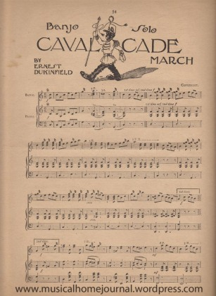 Cavalcade by Ernest Dukinfield Page 1