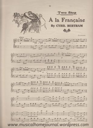 A la Francaise by Cyril Bertram Page 1